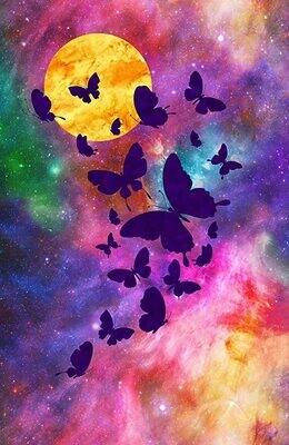 Artisan Spirit Imagine 3d Butterfly Panel by Northcott