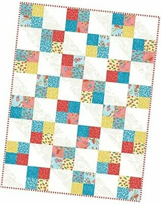 Back Porch Celebration Four Square Quilt Precut Kit - POD by Maywood Studios