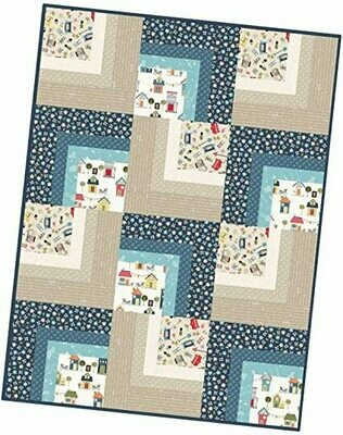 Make Yourself At Home Corner Cabin Quilt Precut Kit - POD by Maywood Studios