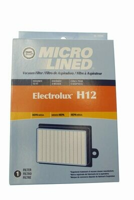 DVC Brand- Micro Lined HEPA Vacuum Filter- 1 Pack- Electrolux