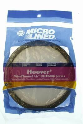 DVC Brand Micro Lined HEPA Vacuum Filter-1 Pack- Hoover