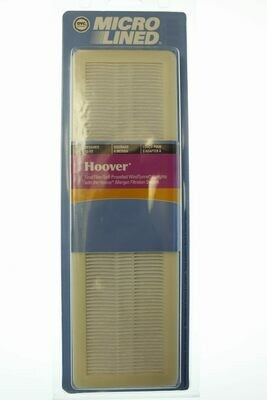 DVC Brand Micro Lined HEPA Vacuum Filter- 1 Pack- Self-Propelled Windtunnel Uprights- Hoover
