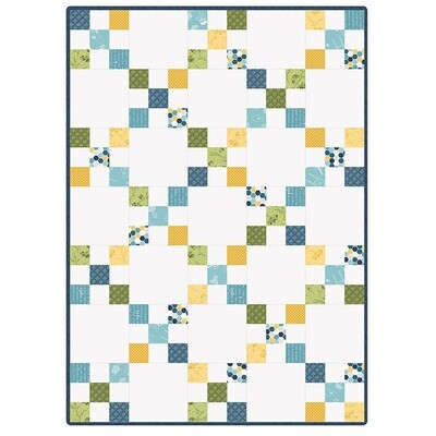 Make Yourself At Home Irish Chain Quilt Precut Kit - POD by Maywood Studios