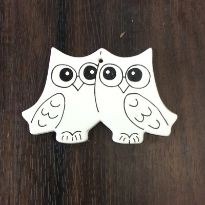 Detailed Owl Ornament