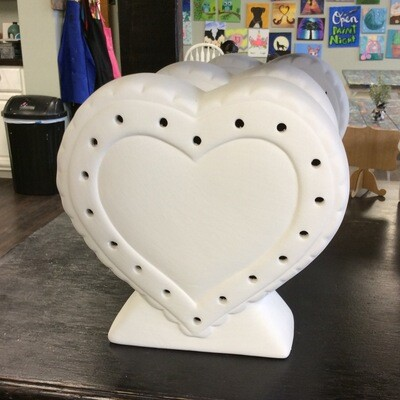 Lighted heart lamp
