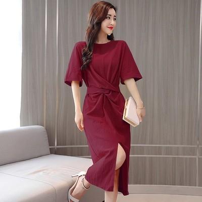 Sandwashed Silk Dress
