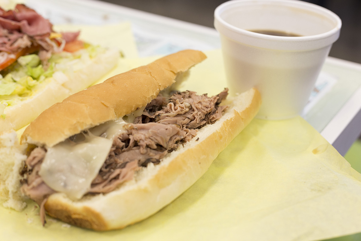 The Big Dipper-Roast Beef with Au Jus