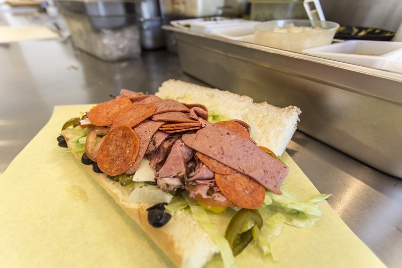 The Spicy Enticer- Pastrami, Pepperoni, Italian Sausage