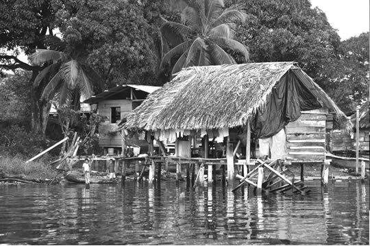 Life On The Water Panama II Photographic Print
