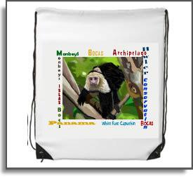 White Faced Capuchin Monkey Backpack