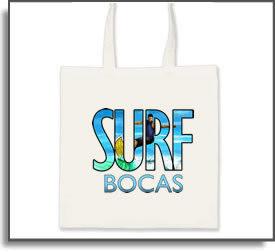 Surf Bocas Tote Bag