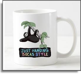 Just Hanging Bocas Style Mug