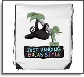 Just Hanging Bocas Style Backpack