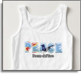 Peace Bocas del Toro T-Shirts & Tanks