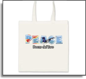 Peace Bocas del Toro Tote Bag