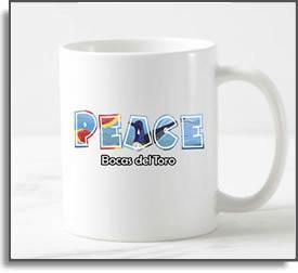 Peace Bocas del Toro  Mug
