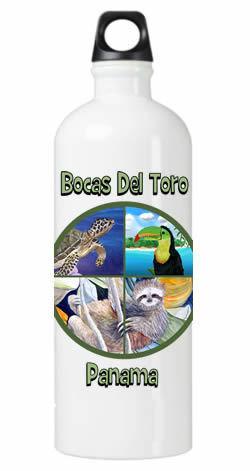Natural Bocas Water Bottle