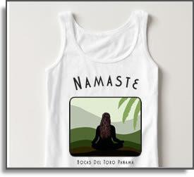 Namaste Yoga Girl T-Shirts & Tanks