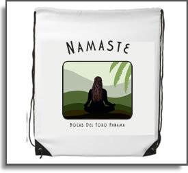 Namaste Yoga Girl  Backpack