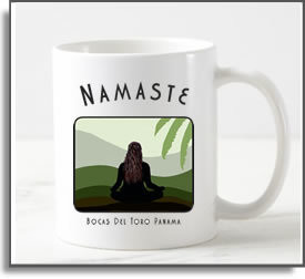 Namaste Yoga Girl Mug