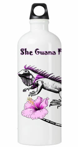 She Guana Party Water Bottle