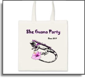 She Guana Party Tote Bag