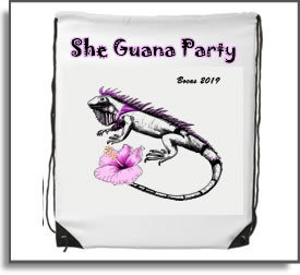 She Guana Party Backpack