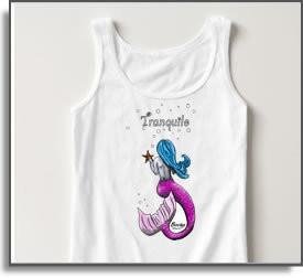 Tranquilo Mermaid T-Shirts & Tanks