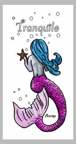 Tranquilo Mermaid Beach Towel