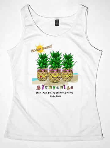 Bad Ass Bocas Beach Bitch T-Shirts & Tanks