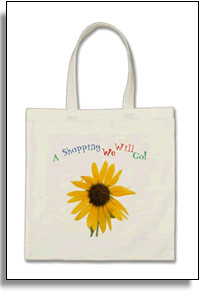 A Shopping We Will Go Tote Bag