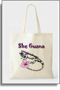 She Guana Tote Bag