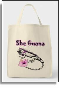 She Guana Grocery Tote Bag