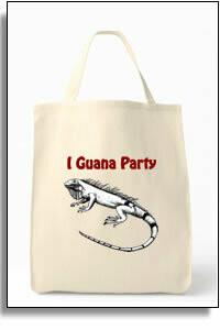 I Guana Party Tote Bag