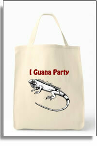 I Guana Party Tote Bag
