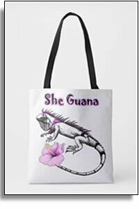 She Guana All Over Tote