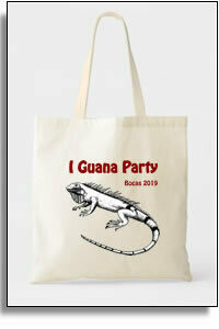 I Guana Party  Budget Tote