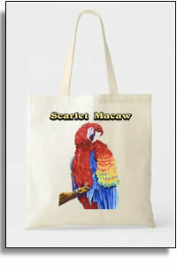 Scarlet Macaw Budget Tote
