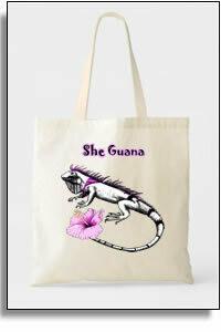 She Guana Budget Tote Bag