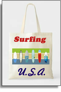 Surfing USA Budget Tote