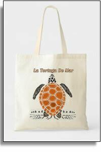 Tortuga De Mar Budget Tote Bag