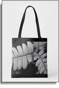 3 Branches All Over Printed Tote Bags