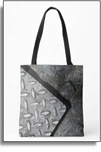 Steel Street All Over Printed Tote