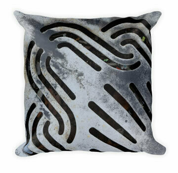 Black Out Throw Pillow Urban Vibe Collection