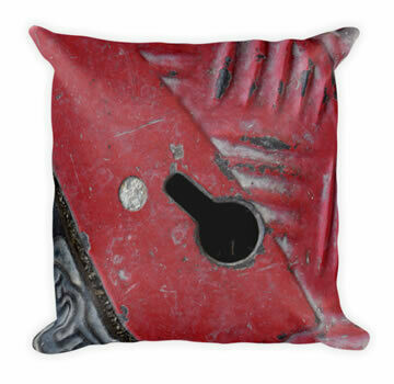Red Road- Urban Vibe Throw Pillow