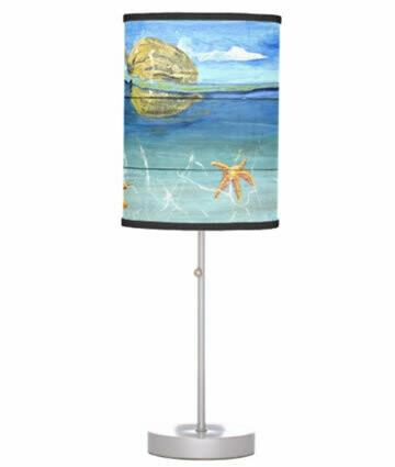 Starfish Beach Table Lamp