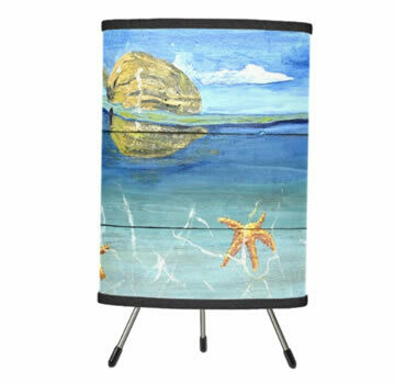 Starfish Beach Tripod Table Lamp