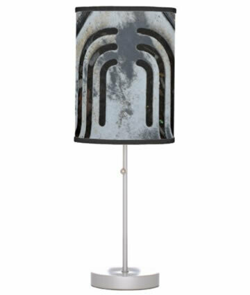 Black Out - Urban Vibe Table Lamp