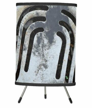 Black Out - Urban Vibe Tripod Table Lamp