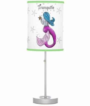 Mermaid Table Lamp